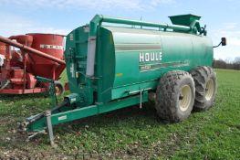 Houle 4050 liquid manure spreader, 23.1-26 tires, 4000 gal, 1000 PTO, SN 1801-086291-663400