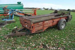 New Idea Model 215 manure spreader, 9.00-20 tires, 540 PTO