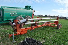 25' Butler lagoon pump, 540 PTO, agitation nozzle, newer bearings & elbows