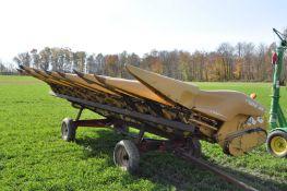 "Lexion Model C508 corn head, 30""/8-row, hyd deck plates, poly snouts"
