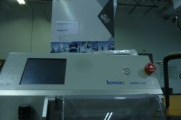 Komax Kappa 315 with operating instructions and tool kit