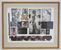 'Explanatory Figures', an artist's proof colour print by George Donald, signed, inscribed and