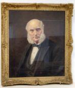 EDWARD DRUMMOND YOUNG (1877-1946).Portrait of an elderly gentleman.64cm x 54cm.Oil on canvas.
