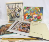 Portfolio paintings and sketches of work by Mary N. M. Ford, first year art school student,