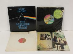 Pink Floyd related LPs to include 'Dark Side Of The Moon' Philippines pressing (completely split