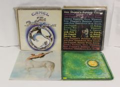 Collection of rock LPs to include Camel, Eric Clapton, Genesis, Gillan etc.