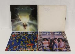 Collection of NWOBHM to include 2 x Gothic Slam and a Diamond Head white label LP 'Lighting To The