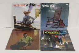LPs to include heavy vinyl re-issues of James Brown, 2 x Miles Davis 'Miles Ahead', 'Milestones'