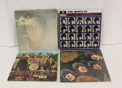 Beatles related LPs to include sealed 2009 re-issue of 'Sgt. Pepper', 'Hard Days Night' One Boxed