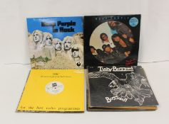 Deep Purple related LPs to include 'In Rock', 'Perfect Strangers' picture disc, BBC transcription