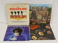 Beatles related LPs to include 'Help' Canadian pressing, 'Sgt Pepper' picture disc, 'Rubber Soul'