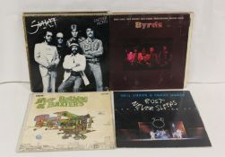 Collection of mainly US Rock LPs to include Jefferson Airplane, The Byrds, Gene Simmons, Patti Smith