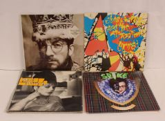 10 x LPs to include 9 by Elvis Costello including two of Spike, King Of America, Armed Forces etc,