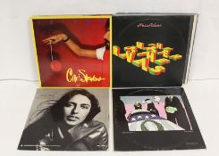 Folk related LPs to include 10 x Joan Baez, 2 x Pete Atkin and Cat Stevens LP.