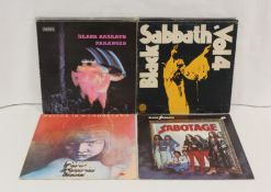 Black Sabbath related LPs to include 'Vol. 4', 'Sabotage', 'Paranoid' on NEMS, 'Malice In
