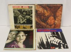 Blues related LPs to include John Mayall ' Back To The Roots', 'The turning Point' and 'Diary Of A