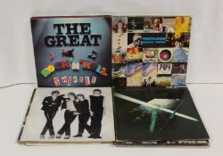 Collection of mainly Punk/New Wave LPs including Telephone with PVC sleeve French pressing and