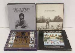Box sets to include Eric Clapton 'Crossroads', '20 Years Of Jethro Tull', Electric Muse, George