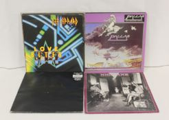 """NWOBHM 12"""" singles and LPs to include Def Leppard, 2 x Kick Axe and Metallica 'One' in gatefold"""
