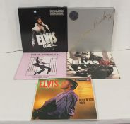 Elvis Presley LPs to include 'Elvis Aron Presley' 8 x LP box set, 'Live In Las Vegas' box set, '