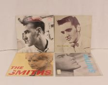 4 x Smiths related LPs to include 'Ask', 'Panic', 'Shoplifters Of The World Unite' and also '