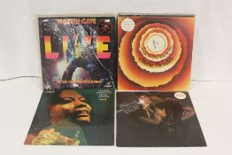 Soul/Motown related LPs to include StevieWonder, Marvin Gaye and Isaac Hayes.