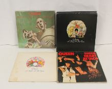 Queen LPs to include 9 x 'A Day At The Races', 2 x 'A Night At The Opera', 'Sheer Heart Attack'