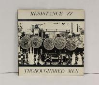 Resistance 77 LP 'Thoroughbred Men', 1984.