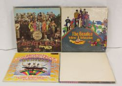 Beatles related lot to include 'Sgt. Pepper', 'The White Album', 'Rubber Soul' Japanese pressing
