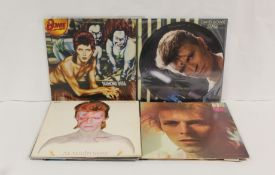 Collection of Bowie LPs to include Loving The Alien (picture disc), Stage, Diamond Dogs, Space