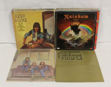 Rock LPs to include Crosby Stills and Nash, Deep Purple 'Made In Japan', Rainbow 'Rainbow Rising'