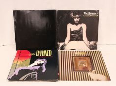 """Damned 12"""" singles to include 2 x 'Thanks For The Night', 'White Rabbit', 'Grimly Fiendish', 2 x '"""