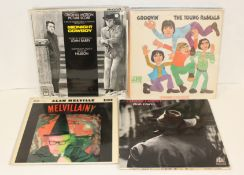 Collection of 1960s LPs to include Melvillainy by Alan Melville, Bobby Darin, Midnight Cowboy