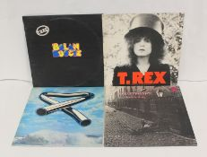 5 x Rock LPs to include Marc Bolan 'Bolan Boogie' and T. Rex 'The Slider', Rod Stewart 'Gasoline
