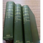 SHAW LACHLAN.  The History of the Province of Moray ... ed. by J. F. S. Gordon. 3 vols. Orig.
