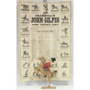 CRANDAL Children's Game.  Crandal's John Gilpin, An Illustration of the Fine Old English Ballad, ...