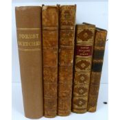 EDMONSTON & DOUGLAS (Pubs).  Forest Sketches, Deer-Stalking & Other Sports in the Highlands Fifty