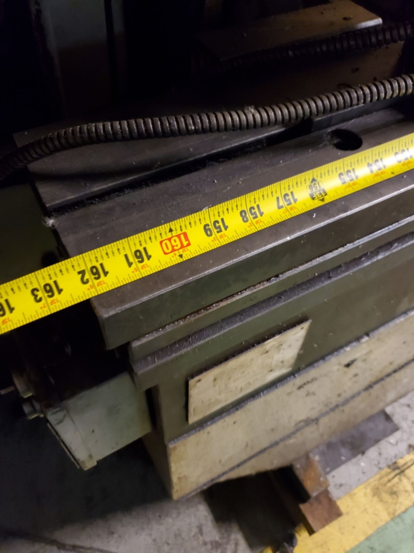"""1993 LVD PPEB160-40 160 TON X 161"""" CNC BRAKE(located in Markle,Indiana), MNC85000, 124"""" BH -AS IS - Image 4 of 6"""