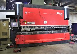 "2013 242 US TON X 168.5"" AMADA MDL. HDS-2204HT CNC PRESS BRAKE, 8-AXIS, AMNC PC PENDANT CONTROL"