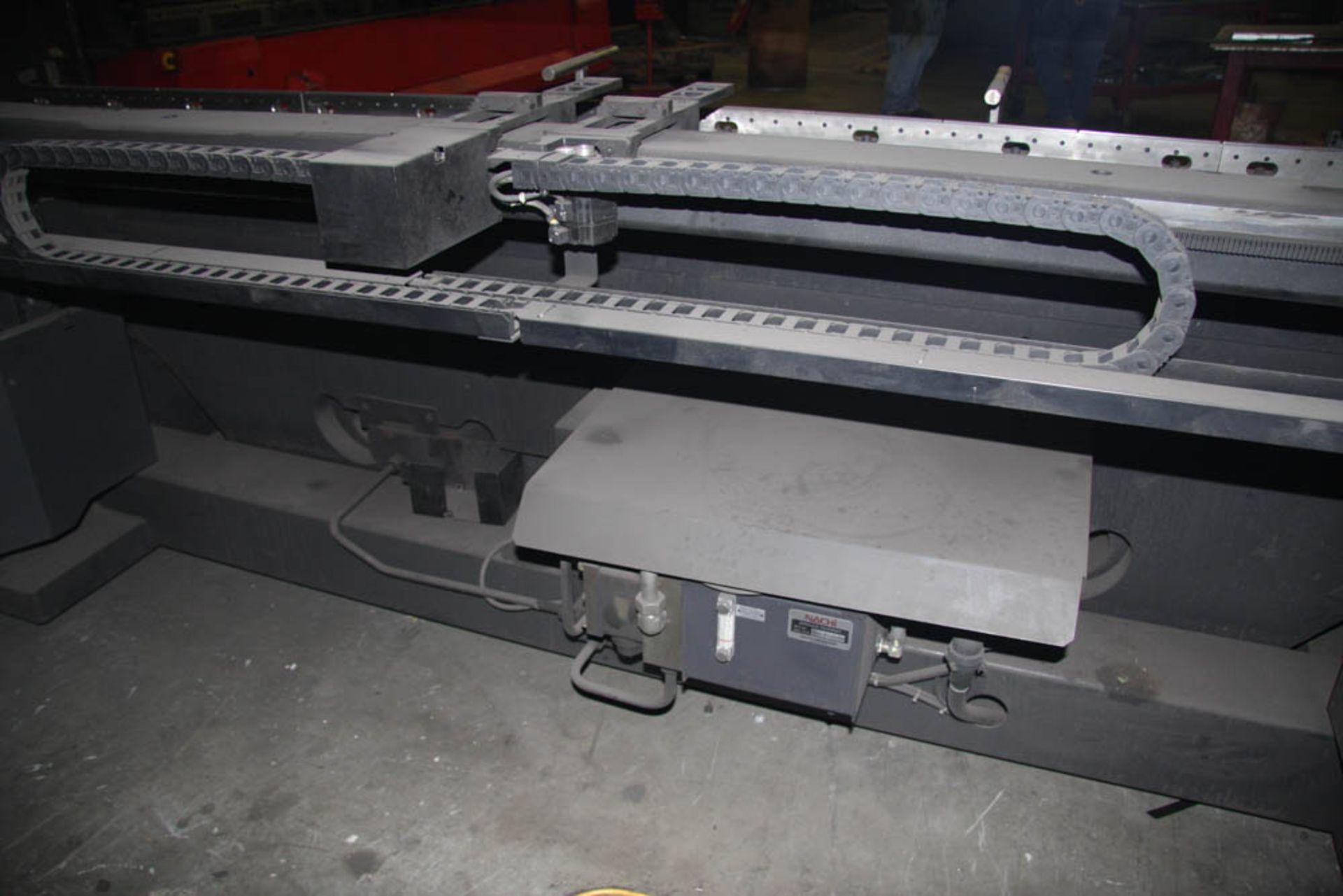 "2015 187 US TON X 122"" AMADA MDL. HG1703 CNC PRESS BRAKE, AMNC 3i CONTROL, 122"" MAX BEND LENGTH - Image 9 of 14"