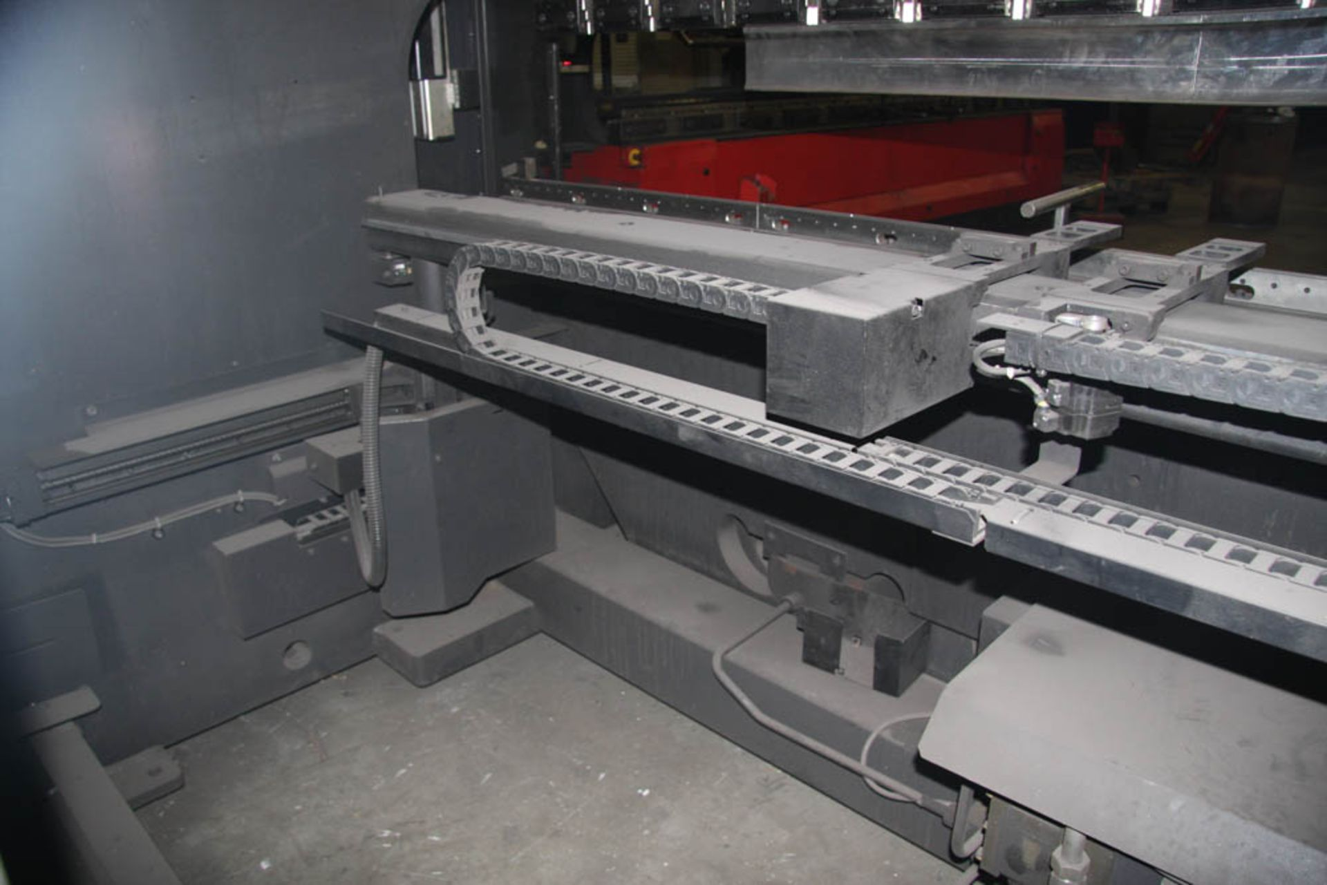 "2015 187 US TON X 122"" AMADA MDL. HG1703 CNC PRESS BRAKE, AMNC 3i CONTROL, 122"" MAX BEND LENGTH - Image 11 of 14"