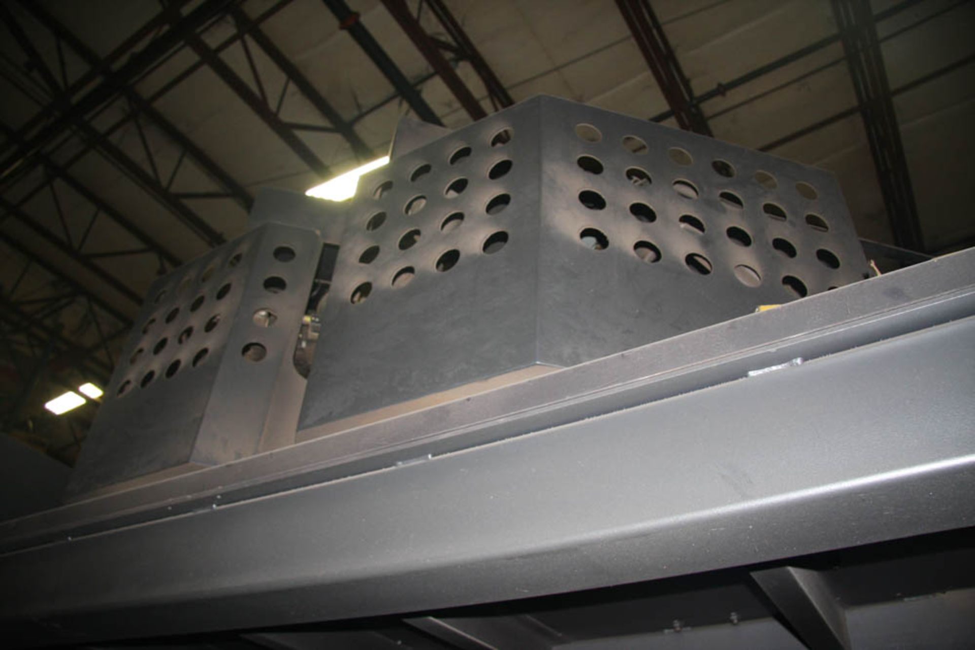 "2015 187 US TON X 122"" AMADA MDL. HG1703 CNC PRESS BRAKE, AMNC 3i CONTROL, 122"" MAX BEND LENGTH - Image 13 of 14"