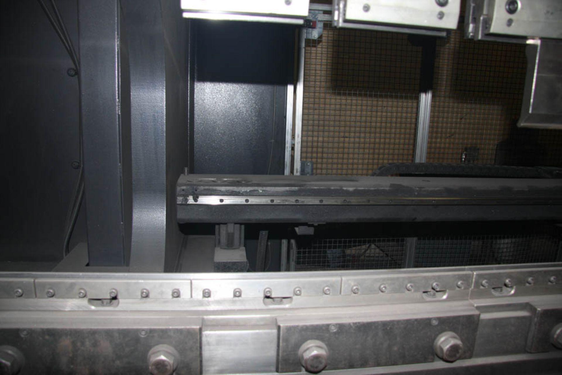 "2015 187 US TON X 122"" AMADA MDL. HG1703 CNC PRESS BRAKE, AMNC 3i CONTROL, 122"" MAX BEND LENGTH - Image 6 of 14"