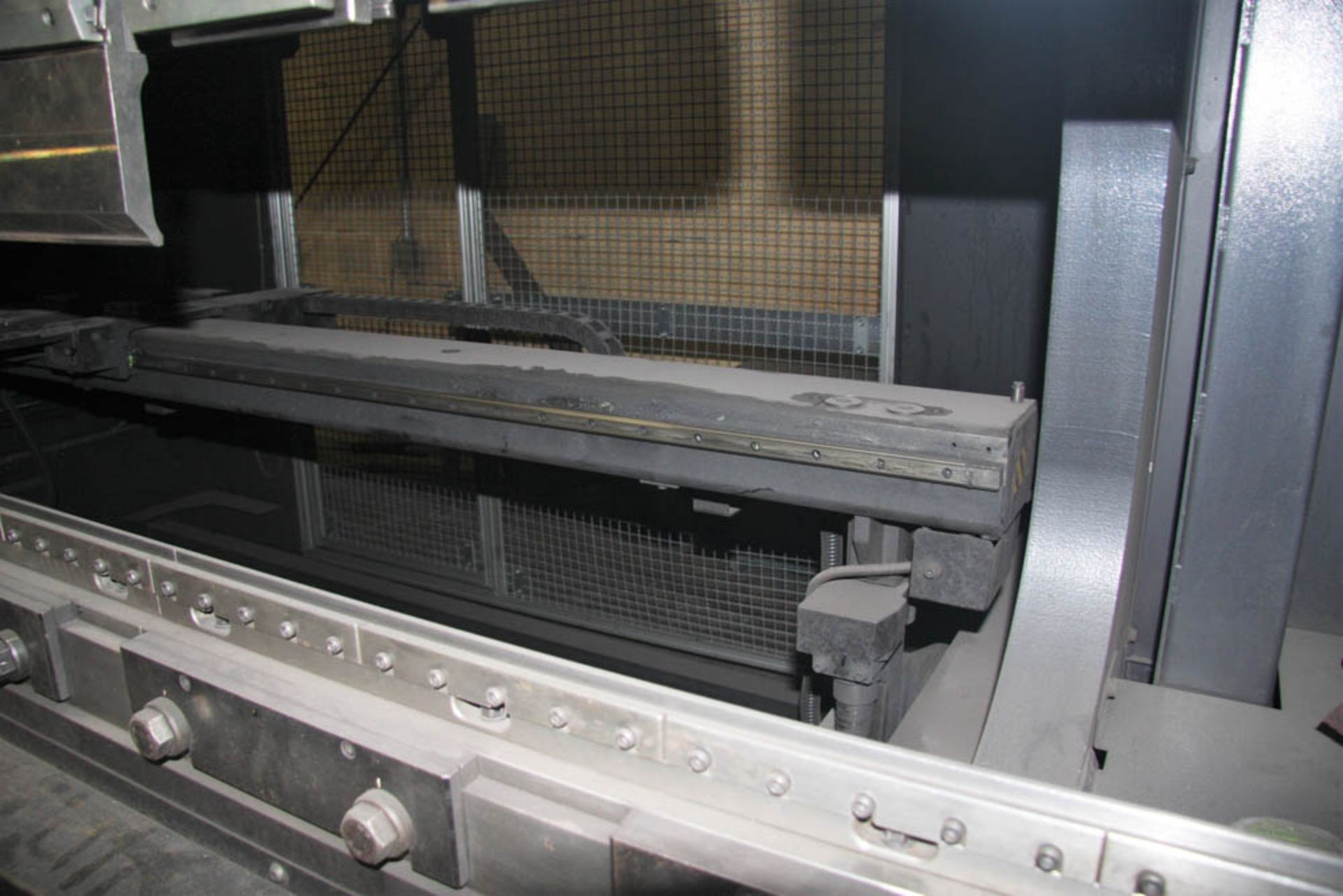 "2015 187 US TON X 122"" AMADA MDL. HG1703 CNC PRESS BRAKE, AMNC 3i CONTROL, 122"" MAX BEND LENGTH - Image 7 of 14"
