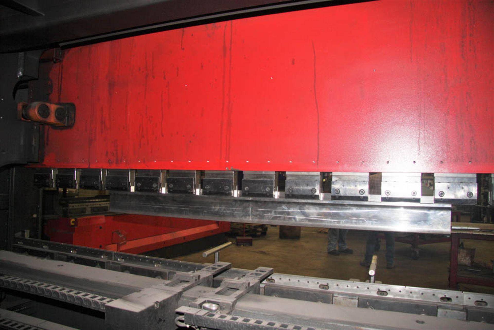 "2015 187 US TON X 122"" AMADA MDL. HG1703 CNC PRESS BRAKE, AMNC 3i CONTROL, 122"" MAX BEND LENGTH - Image 12 of 14"