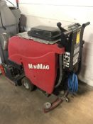 FACTORY CAT MINIMAG FLOOR WASHER S/N 82831, 24 HOURS, LIKE NEW, OVER $8000.00 NEW [WALTON HILLS,