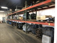 6- SECTIONS OF HEAVY DUTY PALLET RACKING APPROX. 8' X 4' X 10' HIGH (NO CONTENTS) [WALTON HILLS,
