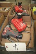 [2] MILWAUKEE 12V CORDLESS SCREWDRIVER W/ CHARGER