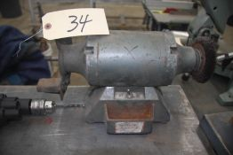 "APPROXIMATELY 1/4HP 4"" DOUBLE END BENCH GRINDER"