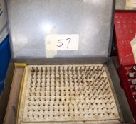 PIN GAGE SET .062-.250